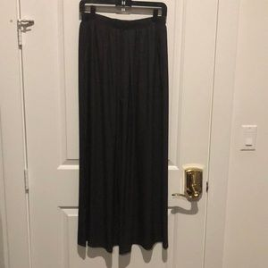 BCBGENERATION grey maxi skirt